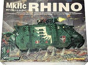 Warhammer 40,000 Mark IIc Rhino M31/99.12.01/017 Space Marine Transport Model Kit