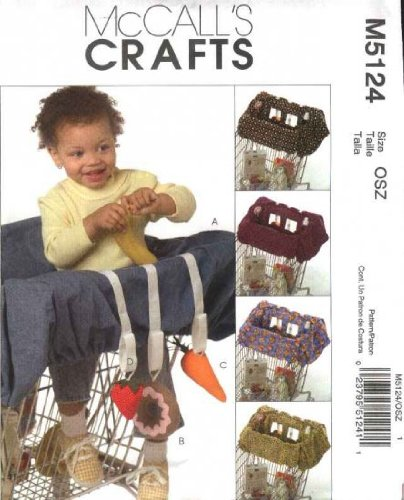 Mccalls Craft Pattern M5124 Baby Grocery Cart Liner And Toys front-985676