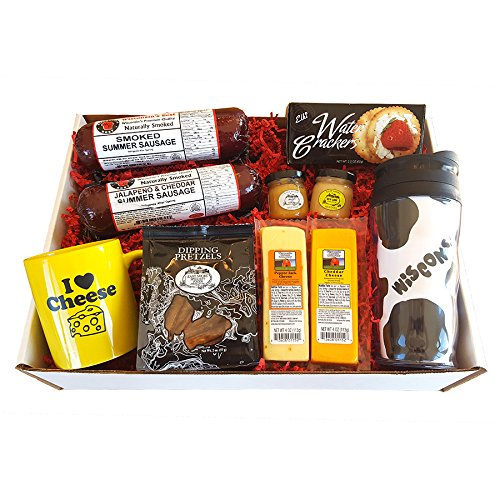 deluxe-wi-cheese-gift-basket-features-smoked-summer-sausages-100-wisconsin-cheeses-crackers-pretzels
