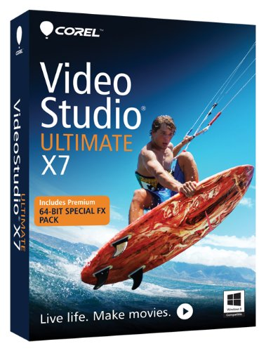 Corel VideoStudio Ultimate X7 [Old Version] (Corel Video Studio Ultimate compare prices)