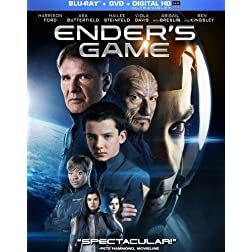 Ender's Game (+UltraViolet Digital Copy) [Blu-ray]