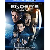 Ender's Game (+UltraViolet Digital Copy) [Blu-ray] ~ Harrison Ford