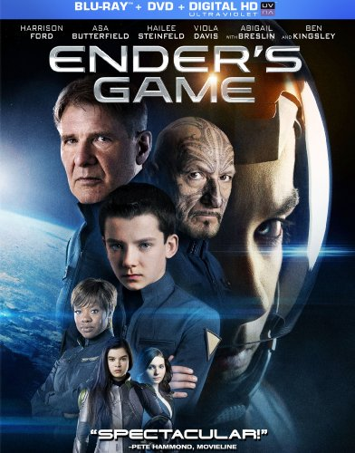 Blu-ray : Ender's Game (With DVD, 2 Pack, 2 Disc)