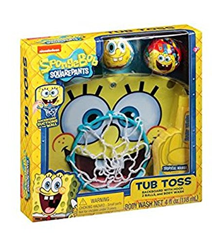 Nickelodeon SpongeBob SquarePants Tub Toss Gift Set, 4 pc - 1