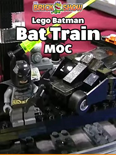 The LEGO Bat Train MOC