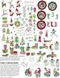 SECRET SANTA OESD Embroidery Machine Designs CD