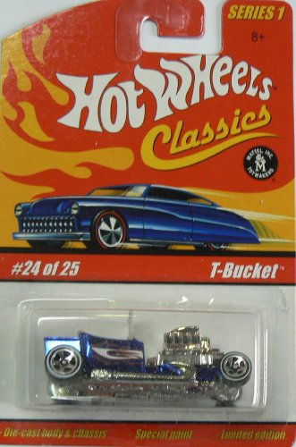 Hot Wheels Classics Series 1 Blue T-bucket 24 of 25