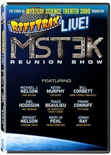 DVD : Rifftrax Live: Mst3k Reunion Show