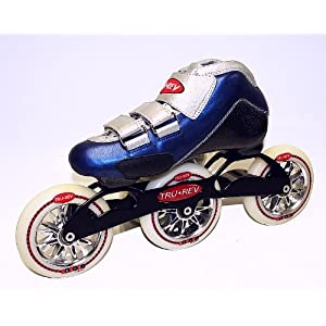 Trurev Youth 3-Wheel Inline Skates- 3-100 Size 3- Best 3 Wheel Skate on Amazon