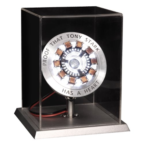 Officially Licensed Marvel Iron Man Movie Arc Reactor Prop Replica with Display Life Size Limited Edition