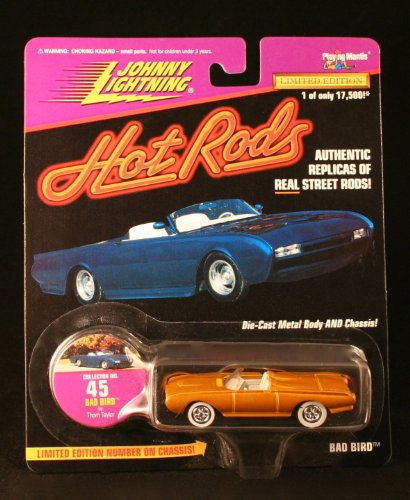 BAD BIRD #45 Johnny Lightning 1997 HOT RODS 1:64 Scale Die Cast Vehicle