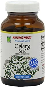 Twinlab Nature's Herbs Celery Seed 1500mg, 100 Capsules