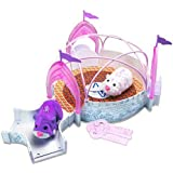 Zhu Zhu Pets Add On Playset Magical Crystal Ballroom Hamster NOT Included!