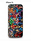 Super Heroes Comics Apple iPhone 5c Fashionable Thin Case Skin
