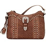 Christmas Gift American West Zip-Top Shoulder Bag