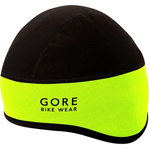 Gore Bike Wear Hhelmf Universal Windstopper Sottocasco - Giallo (Neon Yellow/Nero) - 60/64