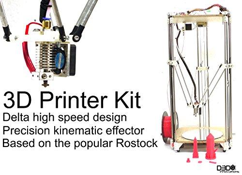 519bmtgdxpL UK EXCLUSIVE COMPLETE 3D Printer kit   Reprap Rostock Delta Design