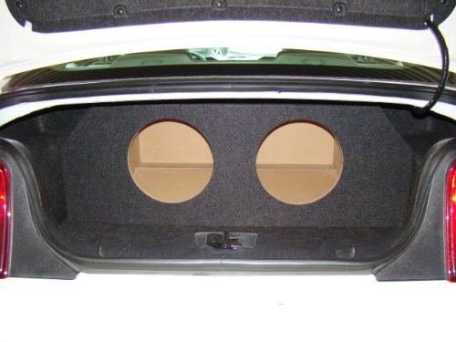 "Zenclosures 2011-2014 Mustang 2-10"" Subwoofer Box"