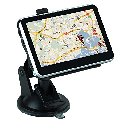 4.3 Inch GPS SAT NAV Navigation System Navigator Touch Screen Free USA MAP Preloaded