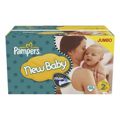Pampers - New baby jumbo taille 2
