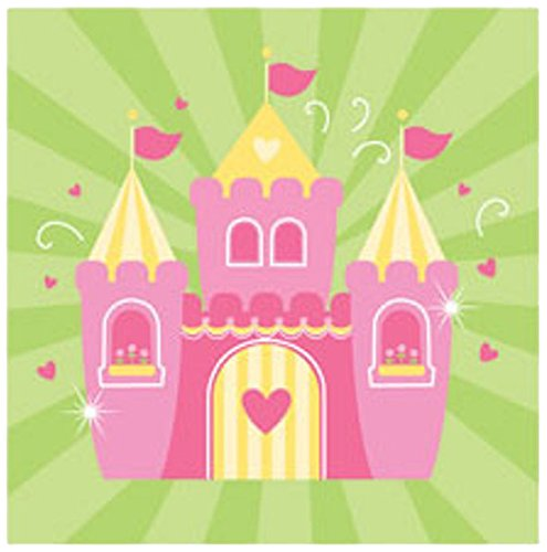 Fairytale Princess Castle Lunch Napkins