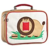 Beatrix Kids Lunch Box: Rory (Lion) Tan