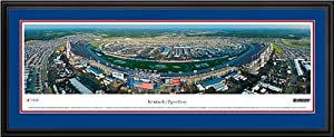 NASCAR Tracks - Kentucky Speedway Aerial - Framed Poster Print by Laminated Visuals