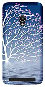 TrilMilPrinted Designer Mobile Case Back Cover For Asus Zenfone 4.5 A450CG