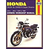 Honda cb250 and cb400n superdreams owner's workshop manual (motorcycle manuals) revised edition by meek, martyn...