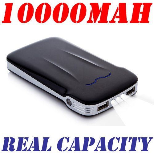 Andream 10000Mah Real Capacity Powerful Battery Charger Black Ys0100210