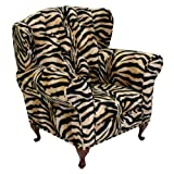 Newco Kids Baby Renaissance Chair, Brown Zebra