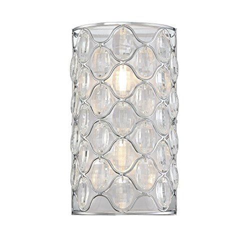 Savoy House Opus 2-Light Wall Sconce in Polished Chrome 9-6064-2-11 (Polished Chrome Wall Sconce compare prices)
