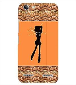 PrintDhaba Girly Design D-2602 Back Case Cover for LENOVO LEMON 3 (Multi-Coloured)