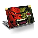 "Monika Creations Hulk-No Punga With Me 15.6 Inch Laptop Skin, 3M Vinyl Fits For 13.3"", 14"", 15"", 15.6"", 16"" Screen..."