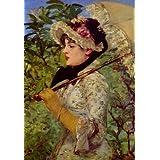 """Kunstdruck (Edouard Manet - Fr�hling) als Poster, Leinwandbild, Dibondbild oder auf Acrylglas in verschiedenen Formatenvon """"bilder-bilderrahmen.de"""""""