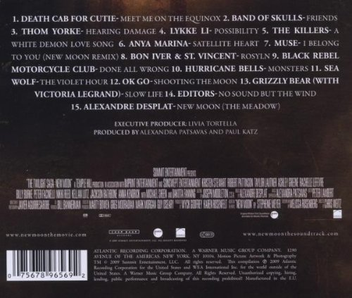 the twilight saga new moon original motion picture soundtrack