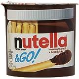 Ferrero Nutella & Go Hazelnut Spread and Breadsticks, 12 Count