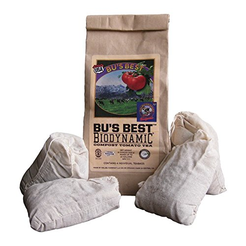 Malibu Compost Bus Brew Biodynamic Compost Tea Bags 4 Cou