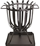 Redwood BB-CH711 Steel Patio Brazier with Barbecue Grill