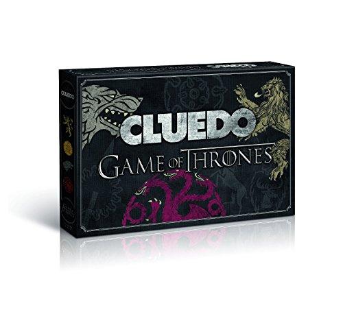 Winning Moves 10951 - Cluedo Game of Thrones GoT Collector's Edition Brettspiel Spiel Gesellschaftsspiel - Deutsch