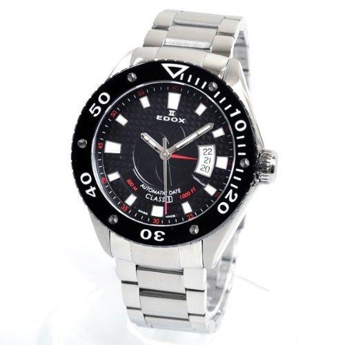 EDOX エドックス 80079 3 NIN クラスワン デイト オートマチック メンズ 腕時計【並行輸入品】