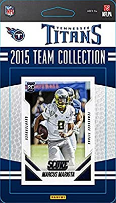 Tennessee Titans 2015 Score Factory sealed 14 Card Limited Edition NFL Team Set