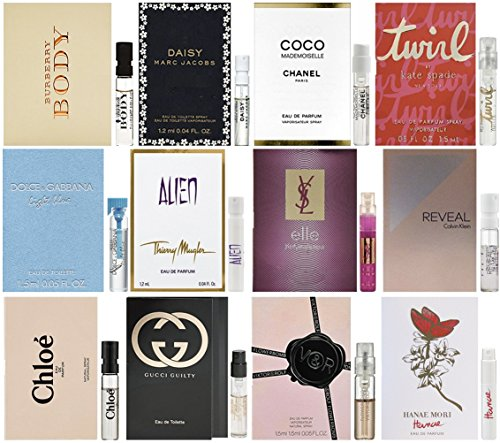 JRoBeauty discount duty free Women's Designer Fragrance Samples Featuring Coco Mademoiselle - Lot of 12 Vials