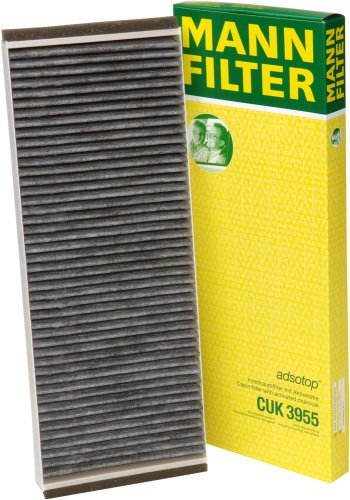 Mann-Filter CUK 3955 Cabin Filter With Activated Charcoal for select  Audi/ Volkswagen models