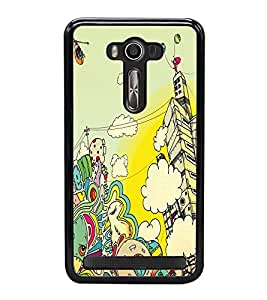 PRINTVISA Abstract Art Case Cover for Asus Zenfone 2 Laser ZE500KL::Asus Zenfone 2 Laser ZE500KL (5 Inches)