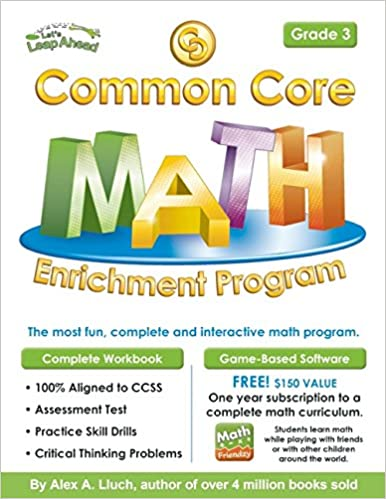 Common Core Math Enrichment Program Grade 3