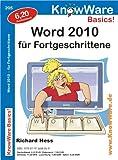 Word 2010 für Fortgeschrittene