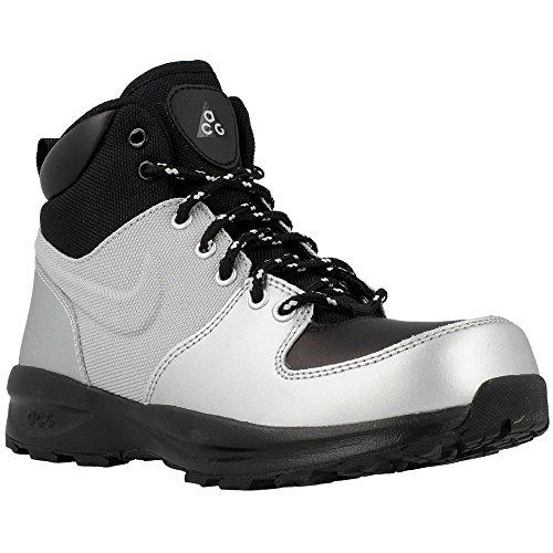 Nike - Manoa Lth GS - Color: Argento-Nero - Size: 40.0