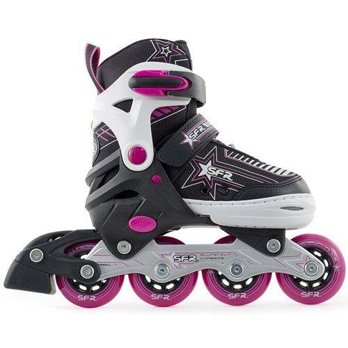 sfr-pulsar-adjustable-inline-skates-pink-kids-8-11uk