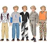 (ムイ) MUYI ドール 人形 フィギュア用 男の子ドール用 長袖シャツ ズボン 3セット [並行輸入品]